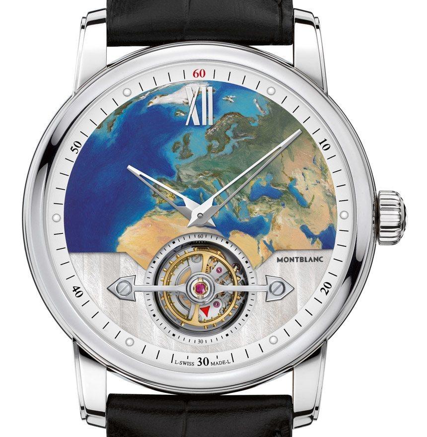 SIHH 2016: Montblanc 4810 ExoTourbillon Slim Watch ...