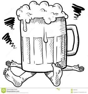 alcoholism-metaphor-sketch-23920506