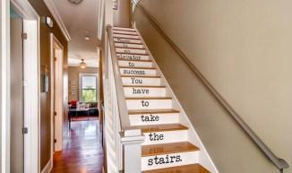 thirty blu stairs
