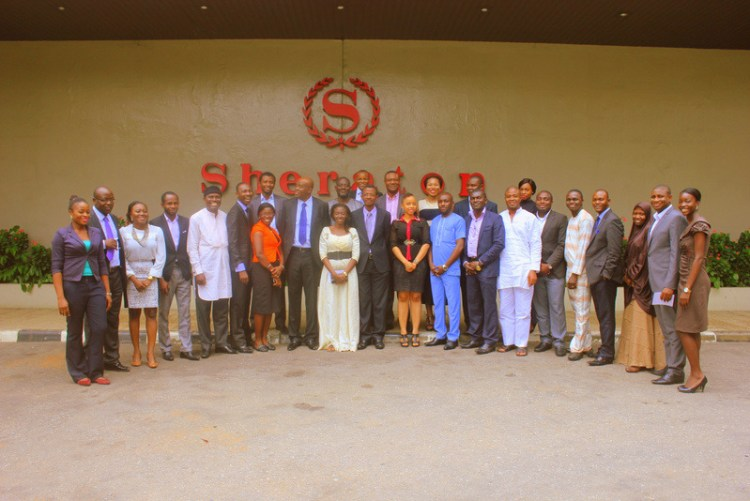 A cross-section of lawyers at Brief Writing Masterclass, 26-28 November 2014, Sheraton Lagos.