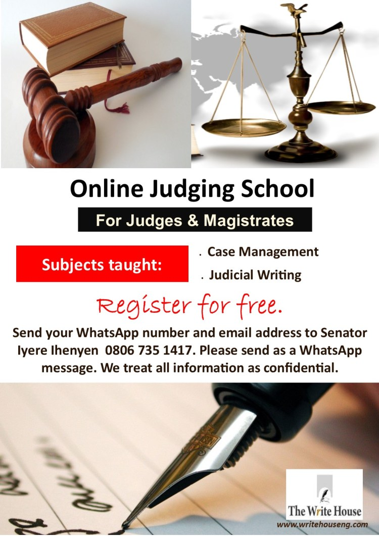 Online Judging School by The Write House