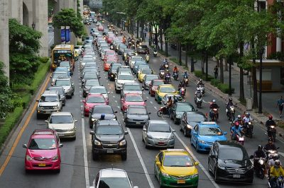 A Traffic Jam of Ideas By Diane Stark