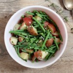 simple potato salad with lemon vinaigrette recipe | writes4food.com
