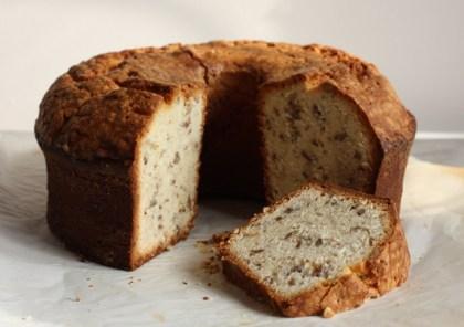 pecan cream cheese pound cake recipe | writes4food.com