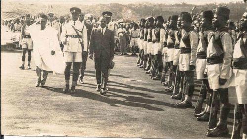 Foncha Ahidjo, West Cameroon (1960)