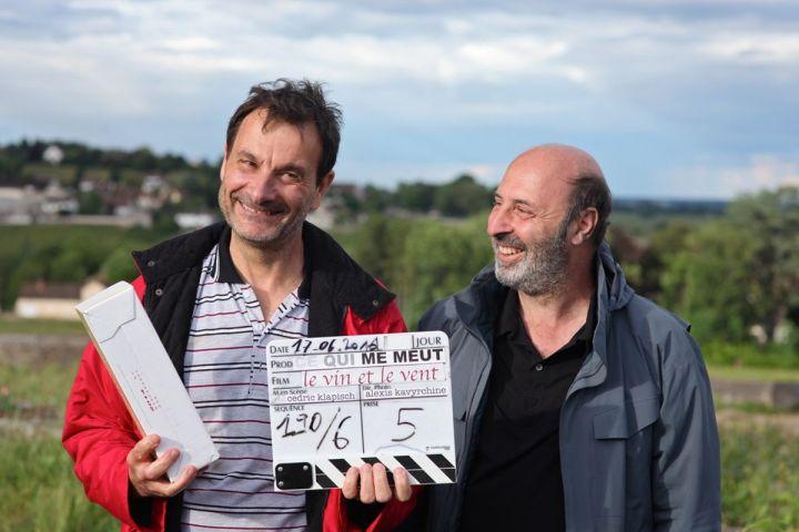 Jean-Marc Roulot and Cédric Klapisch