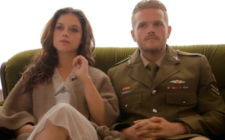 RECCE Henk Nicola VIljoen played by Greg Kriek and Christia Visser