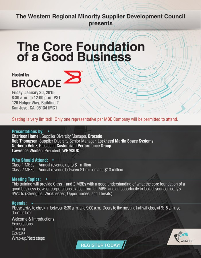 The Core Foundation of a Good Business