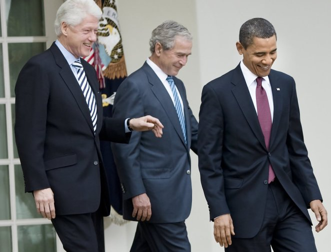 George+W+Bush+Bill+Clinton+Obama+Former+Presidents+Vq-CPtx2fuSx