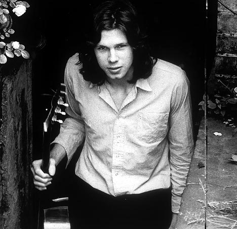 Nick Drake seen here having better hair than you.