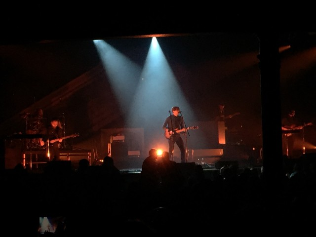 Death Cab For Cutie brought their Seattle gloom to Nashville and somehow left everyone feeling happier for hearing it.