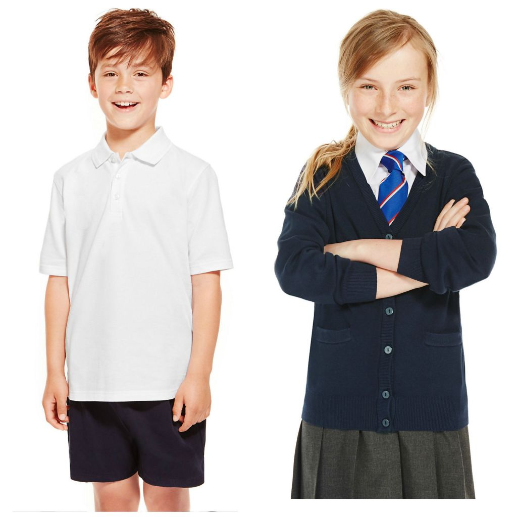M&S boy and girl Collage