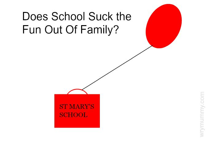 Does School Suck the Fun Out Of Family