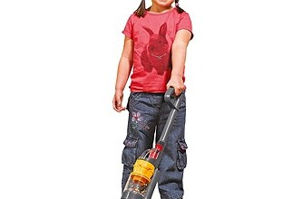 If Kids Did Lent girl hoovering