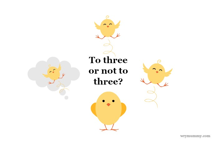 To three or not to three