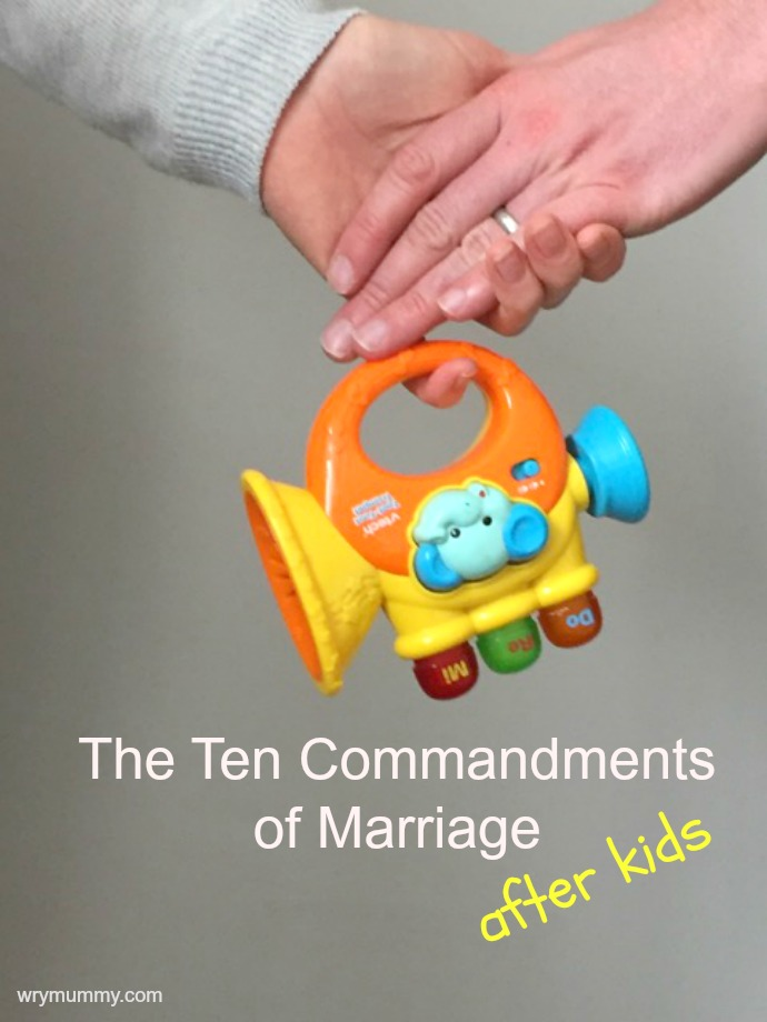 Commandments of marriage ed