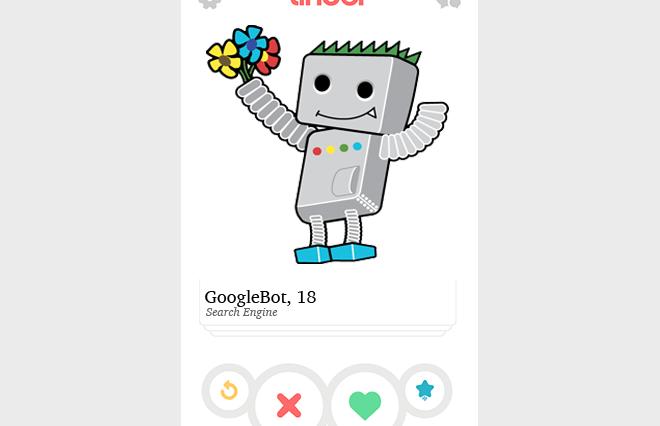 GoogleBot On Tinder