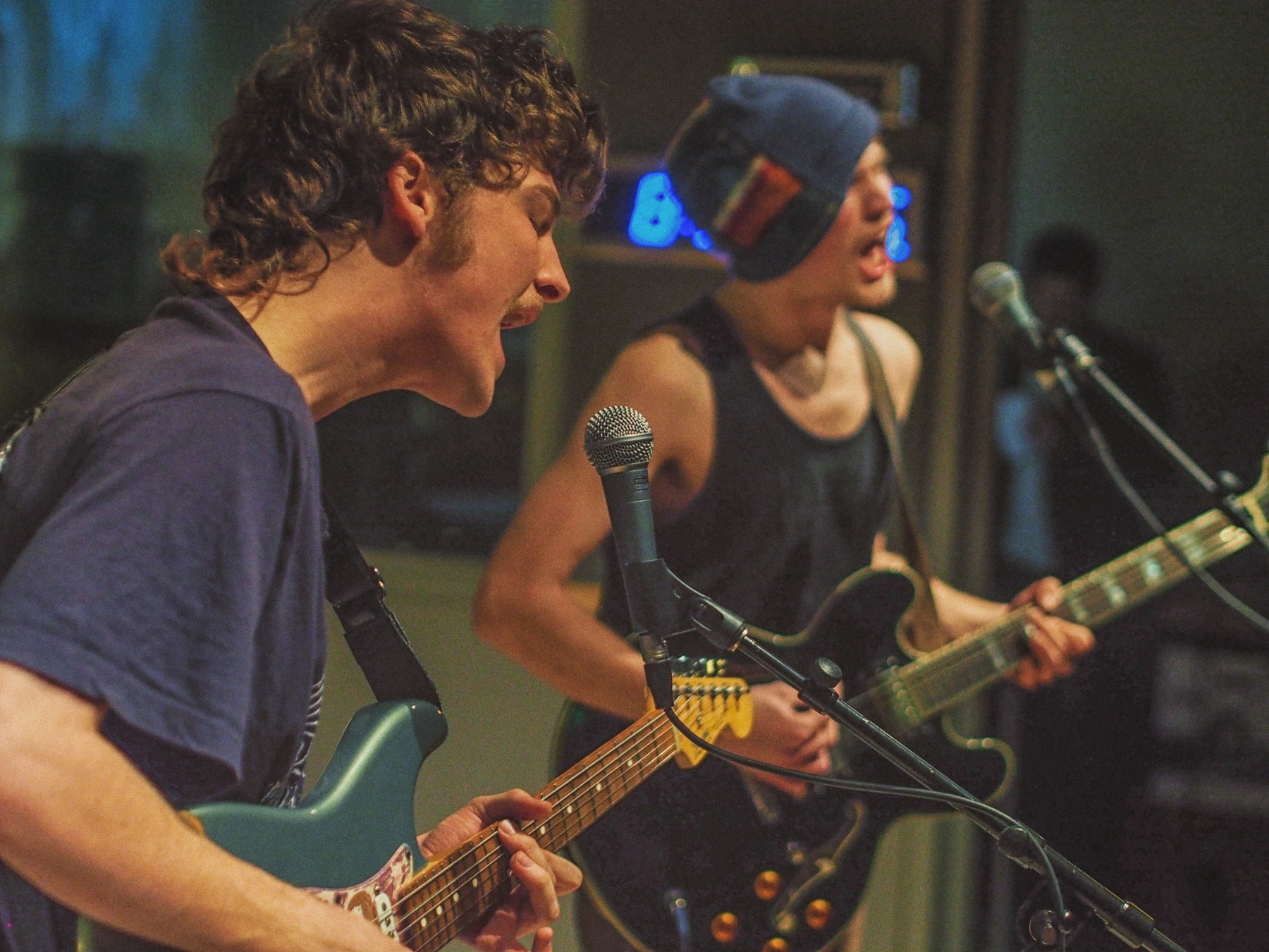 Baltimore's own Sun Club performed live on air for a studio audience on Dec. 16 at the WTMD Studios. Photos by Steve Parke.