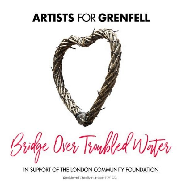 The cover version of Bridge Over Trouble Water by Artists For Grenfell is out now
