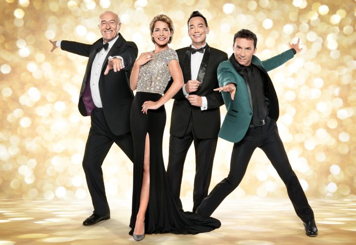 Strictly Come Dancing judges (left to right) Len Goodman, Darcey Bussell, Craig Revel Horwood, Bruno Tonioli