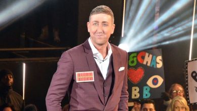 Photo of Christopher Maloney walks into the Celebrity Big Brother house to chants of 'who are you?'