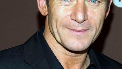 Photo of Liverpool actor Jason Isaacs attends Dig series premiere in New York