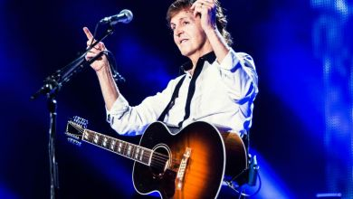 Photo of Paul McCartney gig Liverpool 2015: Watch Paul sing for healthy suppers with Jamie Oliver and Ed Sheeran