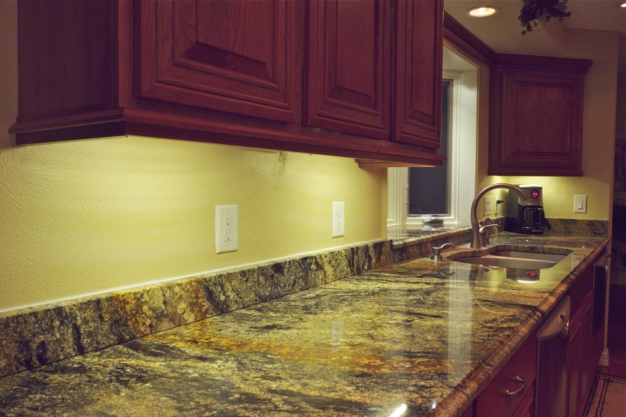 prweb under cabinet kitchen lighting DEKOR LED Under Cabinet Lights make task areas more functional