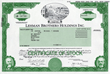 Art and Scarcity of Original Stock and Bond Certificates from Scripophily.com Make Unique Historical Gifts for Everyone During the Holiday Season