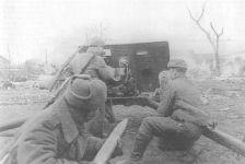 Russian artillery at Poznan
