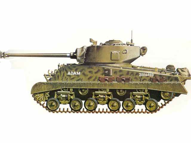 M4a3e8 Sherman Tank M4a3e8 Sherman
