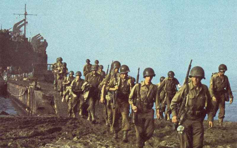 US Army at the beginning of WW2