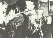 cockpit of a Japanese long-range reconnaissance plane Mitsubishi G3M2