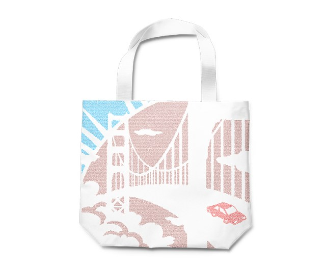 Dave Eggers-themed Tote Bag