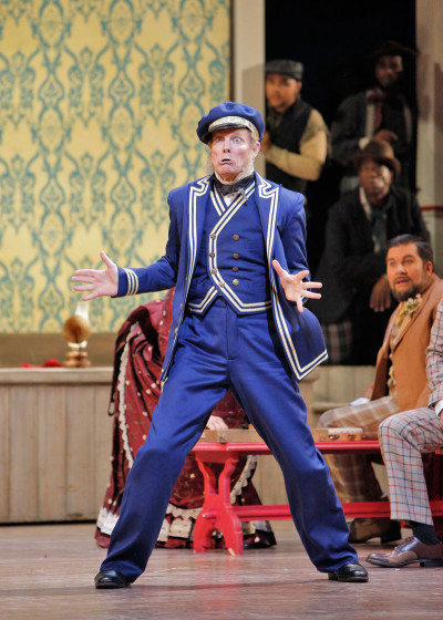 Bill Irwin as Cap'n Andy Hawks in San Francisco Opera's Show Boat.