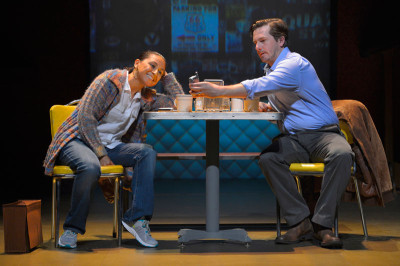 Zilah Mendoza and Patrick Kelly Jones in Water by the Spoonful; photo: Kevin Berne