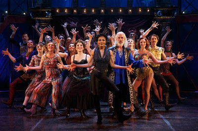 """The cast of """"Pippin"""""""