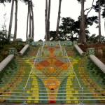 Lincoln Park Steps Reopen Grandly with Artist-Designed Tiles