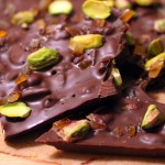 Sexy & Sweet Valentine's Day Recipe: Salted Pistachio, Candied Orange, and Dark Chocolate Bark