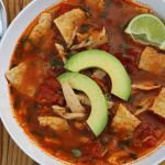 Thanksgiving Leftovers: Mexican Turkey Tortilla Soup with Lime and Chile