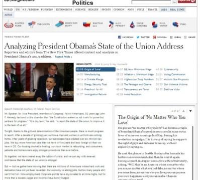 NY Times Analysis