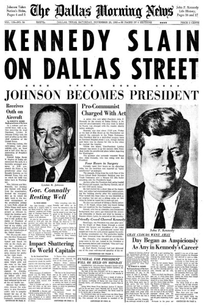 Dallas_Morning_News_Front_Page_11-23-63