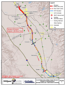 Proposed rail segment (click for larger map)