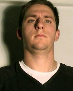 A 2009 police booking photo of former BART Officer Johannes Mehserle.