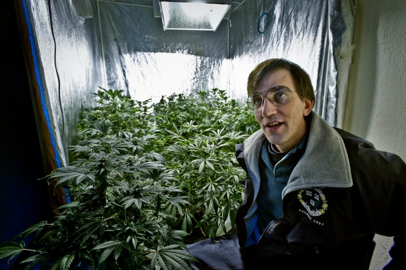 Richard Lee, founder of a pot-growing school in Oakland , led a 2010 initiative to legalize marijuana in California. (Photo by Manny Crisosotomo/Sacramento Bee/MCT via Getty Images)