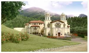 Artist's rendering of the proposed Grady Ranch. (Courtesy Skywalker Properties Ltd.)