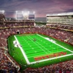 Watch Live on Webcam: 49ers' Santa Clara Stadium Construction