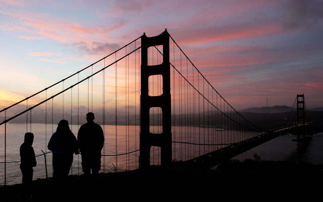 Celebrations are planned throughout the Bay Area for the bridge's 75 anniversary on May 27, 2012.