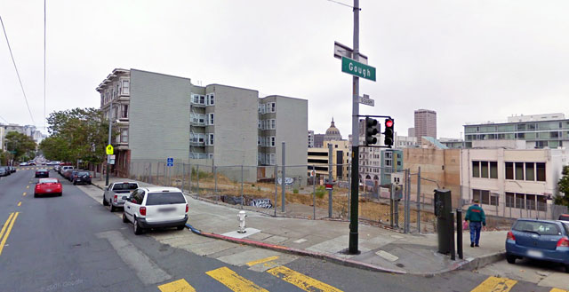 The church burned down in 1995, and remains a vacant lot. (Courtesy Reel SF)