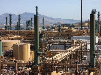 Valero's Benicia refinery is the company's largest in California.